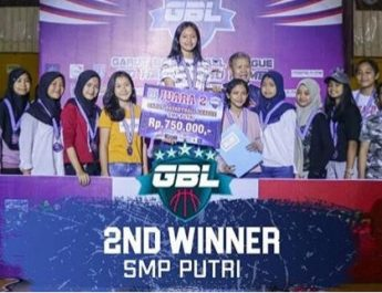 Tim Putri USB DOEGA Juara 2 Tk. Kabupaten GBL CUP 2019