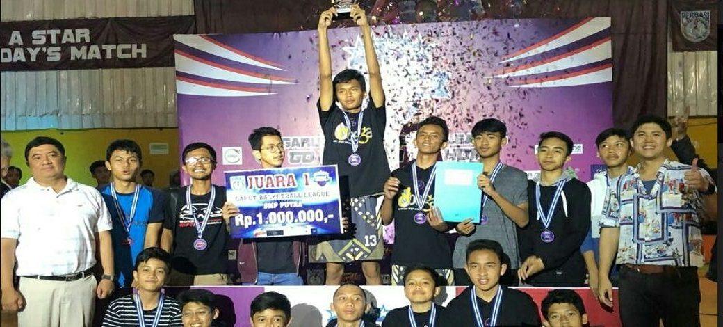 Juara 1 Tim Putra Liga Basket Ball Garut Tahun 2019